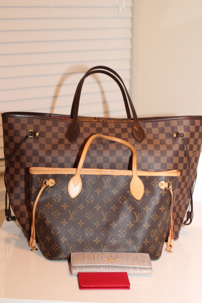 Designer Handbag Review//Louis Vuitton Neverfull GM & PM - 706 x 1059  360kb  jpg